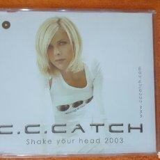 CDs de Música: C. C. CATCH SAKE YOUR HEAD 2003 CD SINGLE. Lote 181592036