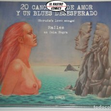 CD de Música: 20 CANCIONES DE AMOR Y UN BLUES DESESPERADO (NERUDA´S LOVE SONGS), RAÍLES EN ISLA NEGRA, DOBLE CD. Lote 181596566