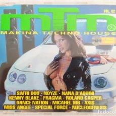 CDs de Música: MTM (MAXI TUNING MUSIC) VOL. 02. Lote 181619363