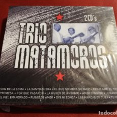 CDs de Música: TRIO MATAMOROS (2 CD'S) SON DE LA LOMA / LA SANTIAGUERA / EL QUE SIEMBRA SU MAIZ. Lote 181632415