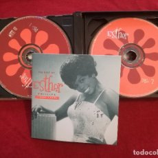 CDs de Música: ESTHER PHILLIPS - THE BEST OF 1962 - 1970 - 2 X CD - RHINO - LIBRETO. Lote 181688548