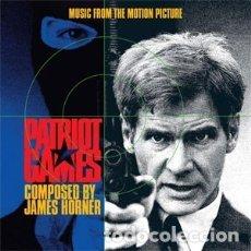 CDs de Música: JUEGO DE PATRIOTAS - PATRIOT GAMES (2 CDS) MÚSICA COMPUESTA POR JAMES HORNER . Lote 181699337