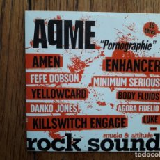 CDs de Música: AQME + YELOWCARD + DANKO JONES ... . Lote 181703736