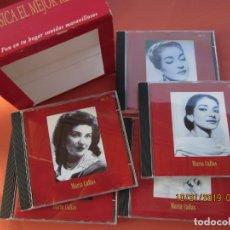 CDs de Música: MARIA CALAS - MOVIE 5CD-BOX - LA MÚSICA EL MEJOR REGALO - VER FOTOS. . Lote 181710947