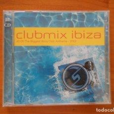 CDs de Música: CD CLUBMIX IBIZA (2 CD'S) - 2002 (5Ñ). Lote 181723622