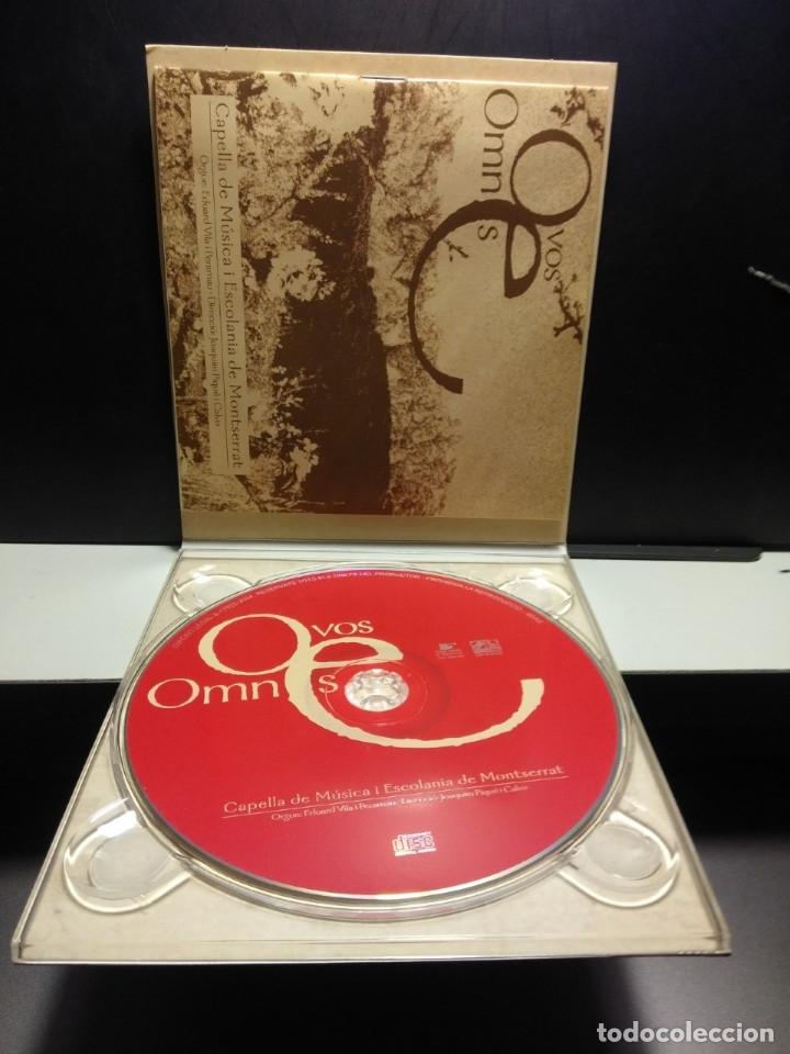 CDs de Música: CD CAPELLA DE MUSICA I ESCOLANIA DE MONTSERRAT : O VOS OMNES - Foto 4 - 181742042