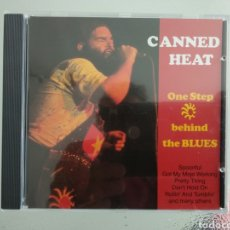 CDs de Música: CANNED HEAT- ONE STEP BEHIND THE BLUES. Lote 181755083