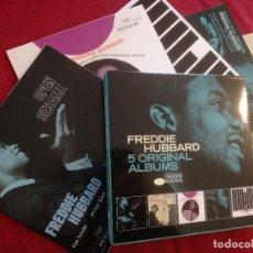 CDs de Música: FREDDIE HUBBARD - 5 ORIGINAL ALBUMS - 5 X CD - OPEN SESAME GOIN' UP HUB CAP HUB-TONES READY FOR. Lote 181766435