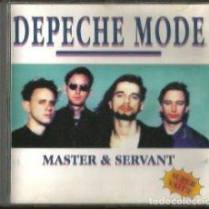 CDs de Música: CD DEPECHE MODE : MASTER & SERVANT ( LIVE IN AMSTERDAM, 1981 ) 19 TEMAS. Lote 181780476