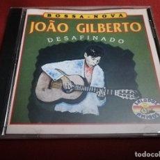CDs de Música: JOAO GILBERTO. DESAFINADO (BOSSA - NOVA) CD. Lote 181787575