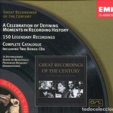 CDs de Música: EMI CLASSICS - GREAT RECORDINGS OF THE CENTURY. Lote 181883486