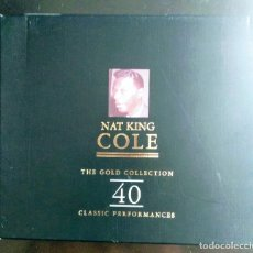 CDs de Música: NAT KING COLE THE GOLD COLLECTION 40 (2 CD). Lote 181883947