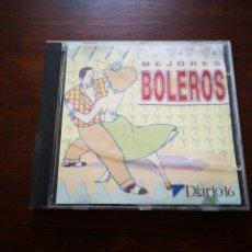 CDs de Música: CD DIARIO 16 PRESENTA LOS MEJORES BOLEROS. GRABADOS EN DIRECTO POR BOLEROS BENGALÍES. Lote 181901207
