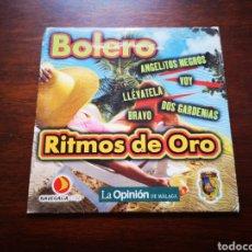 CDs de Música: RITMOS DE ORO. BOLERO.. Lote 181901941