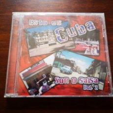 CDs de Música: ESTO ES CUBA. SON O SALSA VOL. 2. PRECINTADO. Lote 181903771