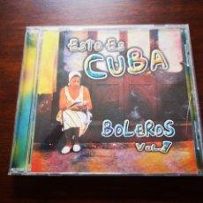 CDs de Música: ESTO ES CUBA. BOLEROS VOL. 7.. Lote 181904046