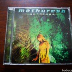CDs de Música: MATHURESH. METAPHOR. Lote 181910471