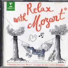CDs de Música: RELAX WITH MOZART. 2 CD. . Lote 181911346