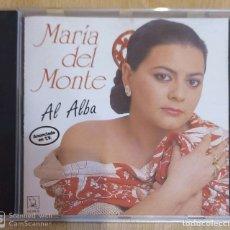 CDs de Música: MARIA DEL MONTE (AL ALBA) CD 1991 HORUS. Lote 181952482