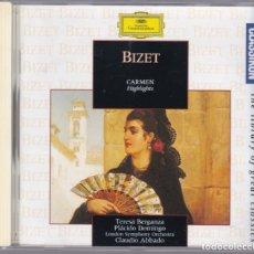 CDs de Música: GEORGES BIZET - CARMEN. Lote 181953292