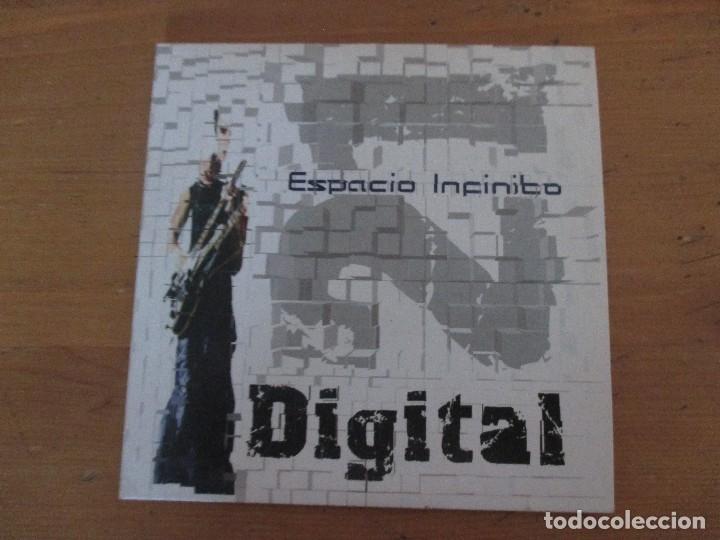 DIGITAL 21 ESPACIO INFINITO CD SINGLE FUNDA CARTÓN 4 CANCIONES + VIDEOCLIP CON NOTA DE PRENSA 2005 (Música - CD's Techno)