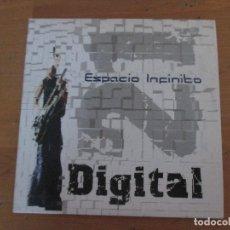 CDs de Música: DIGITAL 21 ESPACIO INFINITO CD SINGLE FUNDA CARTÓN 4 CANCIONES + VIDEOCLIP CON NOTA DE PRENSA 2005. Lote 181957717