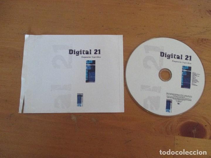 DIGITAL 21 ESPACIO INFINITO 2005 SIN PORTADA (Música - CD's Techno)