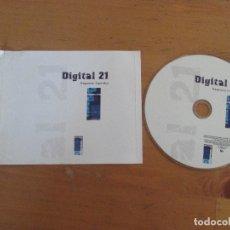 CDs de Música: DIGITAL 21 ESPACIO INFINITO 2005 SIN PORTADA. Lote 181958585