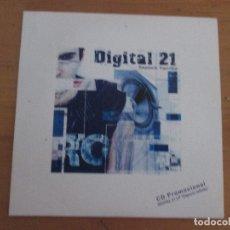 CDs de Música: DIGITAL 21 ESPACIO INFINITO 2005 CD PROMO FUNDA CARTÓN CON NOTA DE PRENSA . Lote 181958811