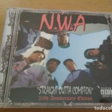 CD de Música: N.W.A STRAIGHT OUTTA COMPTON CD 20TH ANIVERSARY EDITION. Lote 181961507