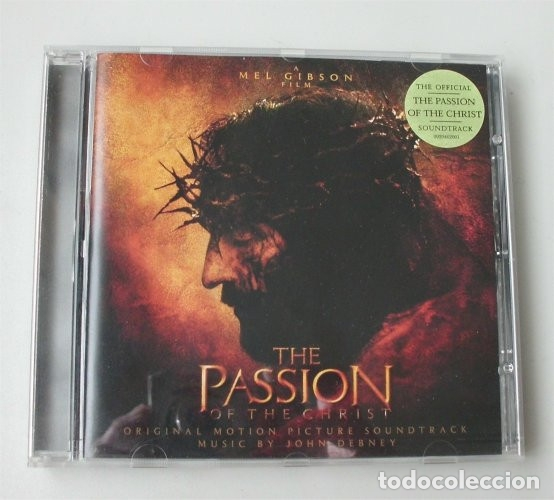 THE PASSION OF THE CHRIST. LA PASIÓN DE CRISTO. BANDA SONORA ORIGINAL DE LA PELÍCULA (Música - CD's Bandas Sonoras)