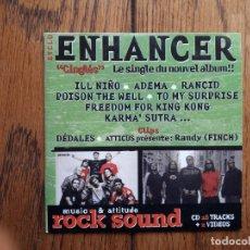 CDs de Música: ENHANCER + ILL NIÑO + RANCID + POISON THE WELL ..... Lote 181983183