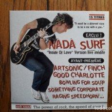 CDs de Música: NADA SURF + REINCIDENTES + ARTSONIC + GOOD CHARLOTTE +.... Lote 181983312