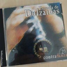 CDs de Música: CONTRADANZA - FOLK CASTILLA Y LEÓN - ESCUELA DE DULZAINAS - 2004 - SEVERAL RECORDS - DESCATALOGADO. Lote 182005890
