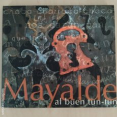 CDs de Música: MAYALDE - AL BUEN TUN TUN - ESPAÑA - 2009 - FOLK CASTILLA Y LEÓN - DESCATALOGADO. Lote 182006065