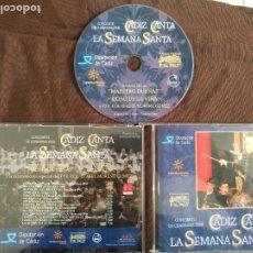 CDs de Música: CD CADIZ CANTA LA SEMANA SANTA - CONCIERTO DE CUARESMA 2009. Lote 182006101