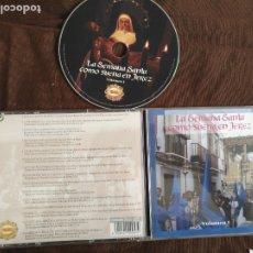 CDs de Música: CD LA SEMANA SANTA COMO SUENA EN JEREZ PASARELA . VOL. 1 BANDAS DE MUSICA AGRUPACIONES MUSICALE .. Lote 182006146