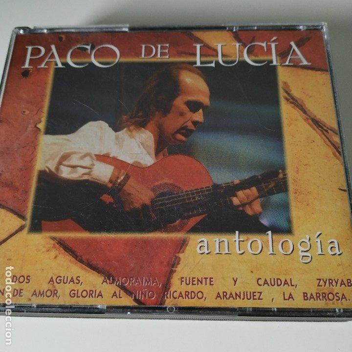 PACO DE LUCÍA - ANTOLOGÍA - 2 CDS - RECOPILATORIO (Música - CD's Flamenco, Canción española y Cuplé)