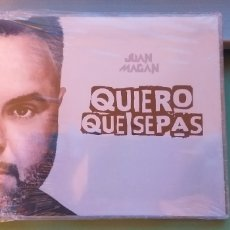 CDs de Música: JUAN MAGAN CD MAXI QUIERO QUE SEPAS NUEVO + 4 € ENVIO C.N.. Lote 182018610