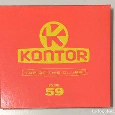 CDs de Música: KONTOR VOL 59. Lote 182027685