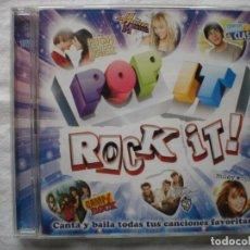 CDs de Música: POP IT, ROCK IT !. CD + DVD. Lote 182032740