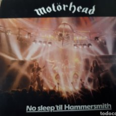 CDs de Música: MOTORHEAD NO SLEEP TIL HAMMERSMITH DOBLE CD. Lote 182043632