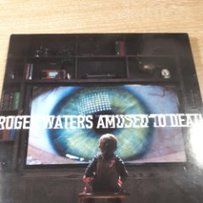 CDs de Música: ROGER WATERS AMUSED TO DEATH CD +CD BLU-RAY AUDIO. Lote 182044653