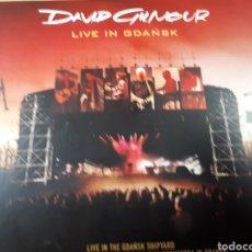 CDs de Música: DAVID GILMOUR LIVE IN GDANSK DOBLE CD. Lote 182045830