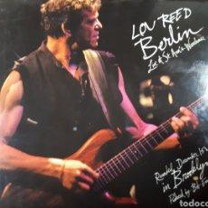 CDs de Música: LOU REED BERLIN LIVE AT ST. ANN S WAREHOUSE. Lote 182046610