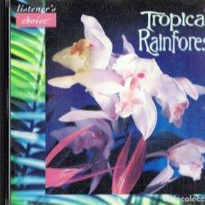 CDs de Música: TROPICAL RAINFOREST (CD). Lote 182078312