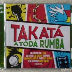 CDs de Música: TAKATÁ A TODA RUMBA.CHUNGUITOS-FARY-CHICHOS-LAS GRECAS Y OTROS...MUY RARO..2 CD´S. Lote 182079778