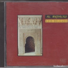 CDs de Música: LUIS DELGADO CD AL-ANDALUS 1993 ALHAMBRA GRANADA. Lote 182088242