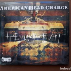 CDs de Música: AMERICAN HEAD CHARGE - THE WAR OF ART - DIGIPACK - 2001. Lote 182089337