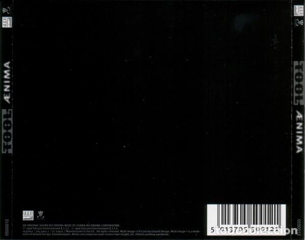 CDs de Música: TOOL - AENIMA - 2003 REISSUE - Foto 2 - 182107638